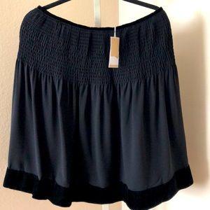 Michael Kors Collection 100% Silk Skirt ((NWT)